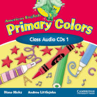 American English Primary Colors 1 Class CD