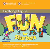 Fun for Starters Audio CD