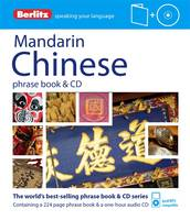 Berlitz: Mandarin Chinese Phrase Book...