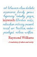 Keywords: A Vocabulary of Culture and...