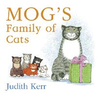 Mog's Family of Cats board book