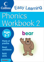 Easy Learning: Phonics Workbook 2 Age...