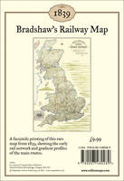 Bradshaw's Railway Map 1839: Wall Map