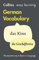 Collins easy learning German vocabulary