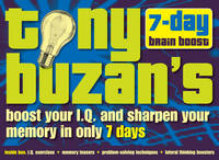 Tony Buzan's 7-day Brain Boost Pack