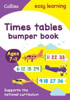 Times Tables Bumper Book Ages 7-11:...