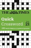 The Times Quick Crossword Book 21: ...