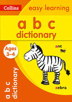 ABC Dictionary Ages 3-4 (Collins Easy...