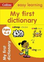My First Dictionary Ages 4-5 (Collins...