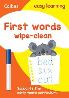 First Words Age 3-5 Wipe Clean...