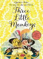 Three Little Monkeys: Book & CD