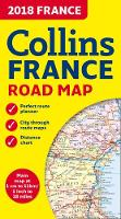 2018 Collins Map of France