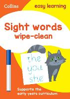 Sight Words Age 3-5 Wipe Clean...