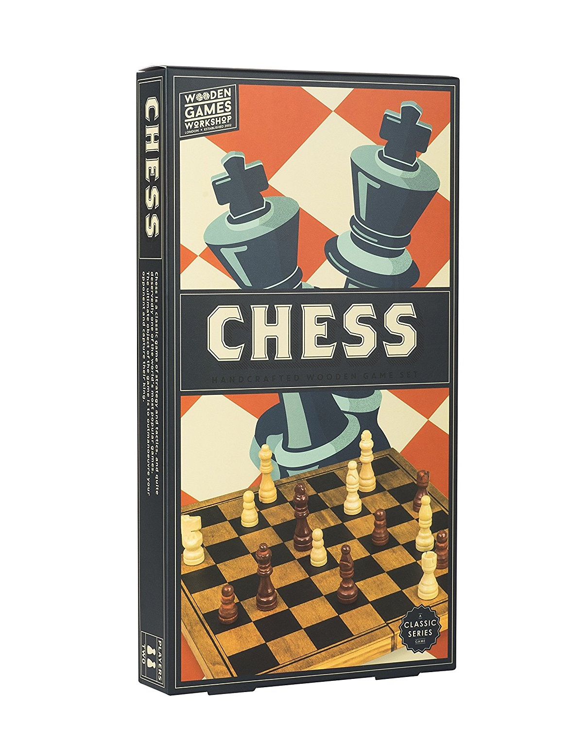 Wooden Games Chess Board