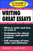 Schaum's Quick Guide to Writing Great...