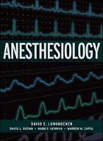 Anesthesiology [With CDROM]