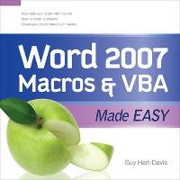 Word 2007 Macros and VBA Made Easy