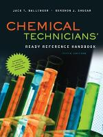 Chemical Technicians' Ready Reference...