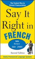 Say it right in French audio edition