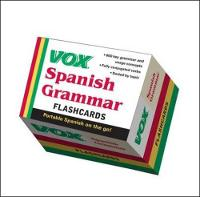 Vox Spanish grammar cards