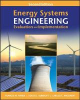 Energy Systems Engineering: ...