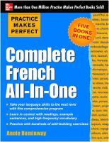 Complete French all-in-one - Practice...