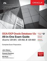 OCA/OCP Oracle Database 12C ...