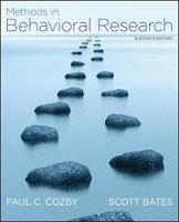 Methods in Behavioral Research