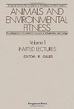Animals and Environmental Fitness: Conference Proceedings: v. 1: Invited Lectures
