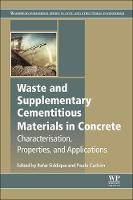 Waste and Supplementary Cementitious...