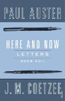 Here and Now: Letters