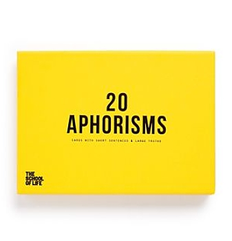 School of Life 20 Aphorisms