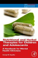 Nutritional and Herbal Therapies for...