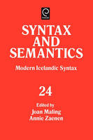 SYNTAX AND SEMANTICS, VOLUME 24 TR PPR