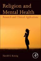 Religion and Mental Health: Research...