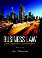 Business Law: Legal Environment,...