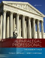 The Paralegal Professional: The...