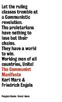 The Communist Manifesto