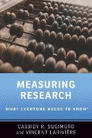 Measuring Research: What Everyone...
