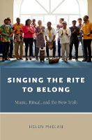 Singing the Rite to Belong: Ritual,...