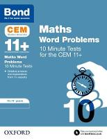 BOND 11+ CEM: CEM Maths Word Problems...