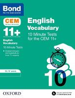 Bond 11+: CEM Vocabulary 10 Minute...