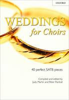 Weddings for Choirs - 40 perfect SATB pieces