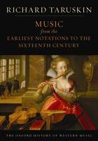 Music from the Earliest Notations to...