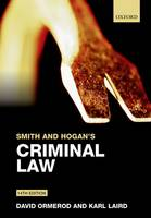 Smith and Hogan's Criminal Law