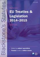 Blackstone's EU Treaties & ...