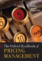 The Oxford Handbook of Pricing...