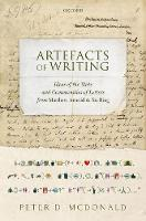 Artefacts of Writing: Ideas of the...