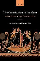 The Constitution of Freedom: An...