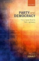 Party and Democracy: The Uneven Road...